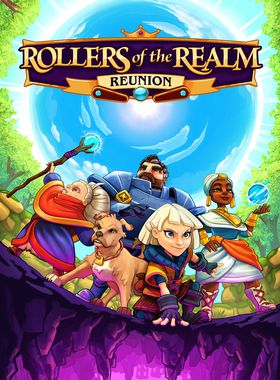 Rollers of The Realm: Reunion Key Art