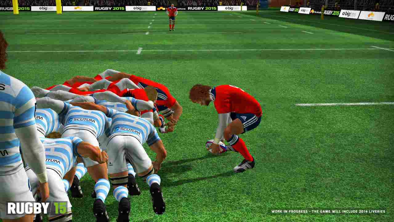 Rugby 15 Background Image