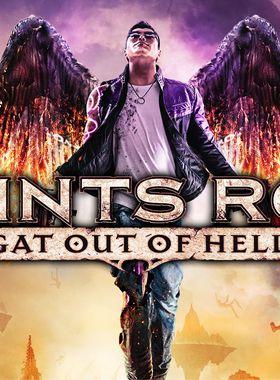 Saints Row: Gat Out of Hell Key Art