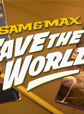 Sam & Max Save the World Key Art