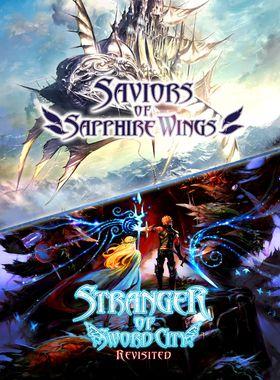 Saviors of Sapphire Wings / Stranger of Sword City Revisited Key Art