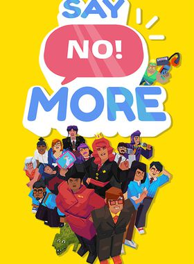 Say No! More Key Art