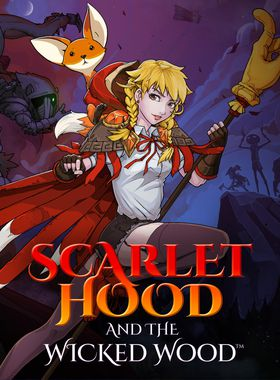 Scarlet Hood and the Wicked Wood Key Art