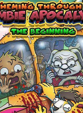 Scheming Through The Zombie Apocalypse: The Beginning Key Art