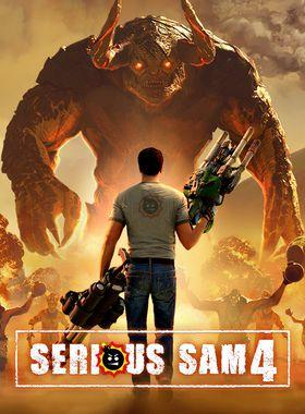 Serious Sam 4 Key Art