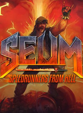 SEUM: Speedrunners from Hell Key Art