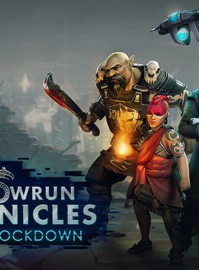 Shadowrun Chronicles: Boston Lockdown Key Art