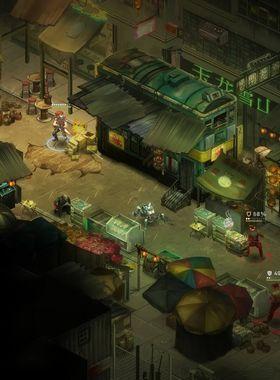 Shadowrun: Hong Kong Key Art