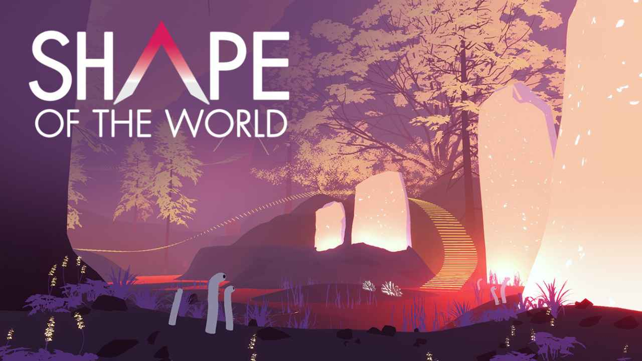 Shape of the World Background Image