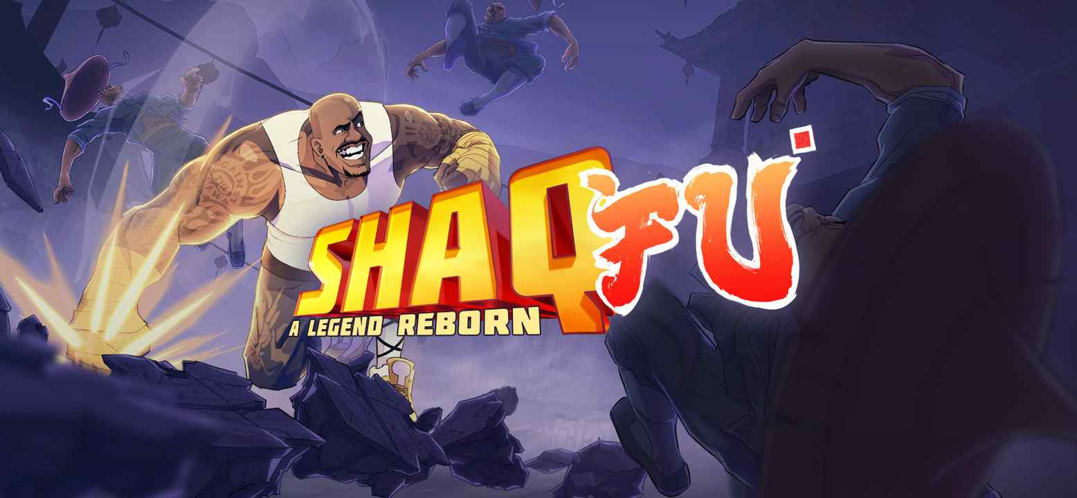Shaq Fu: A Legend Reborn Key Art