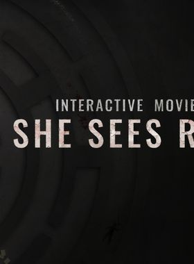 She Sees Red - Interactive Movie Key Art