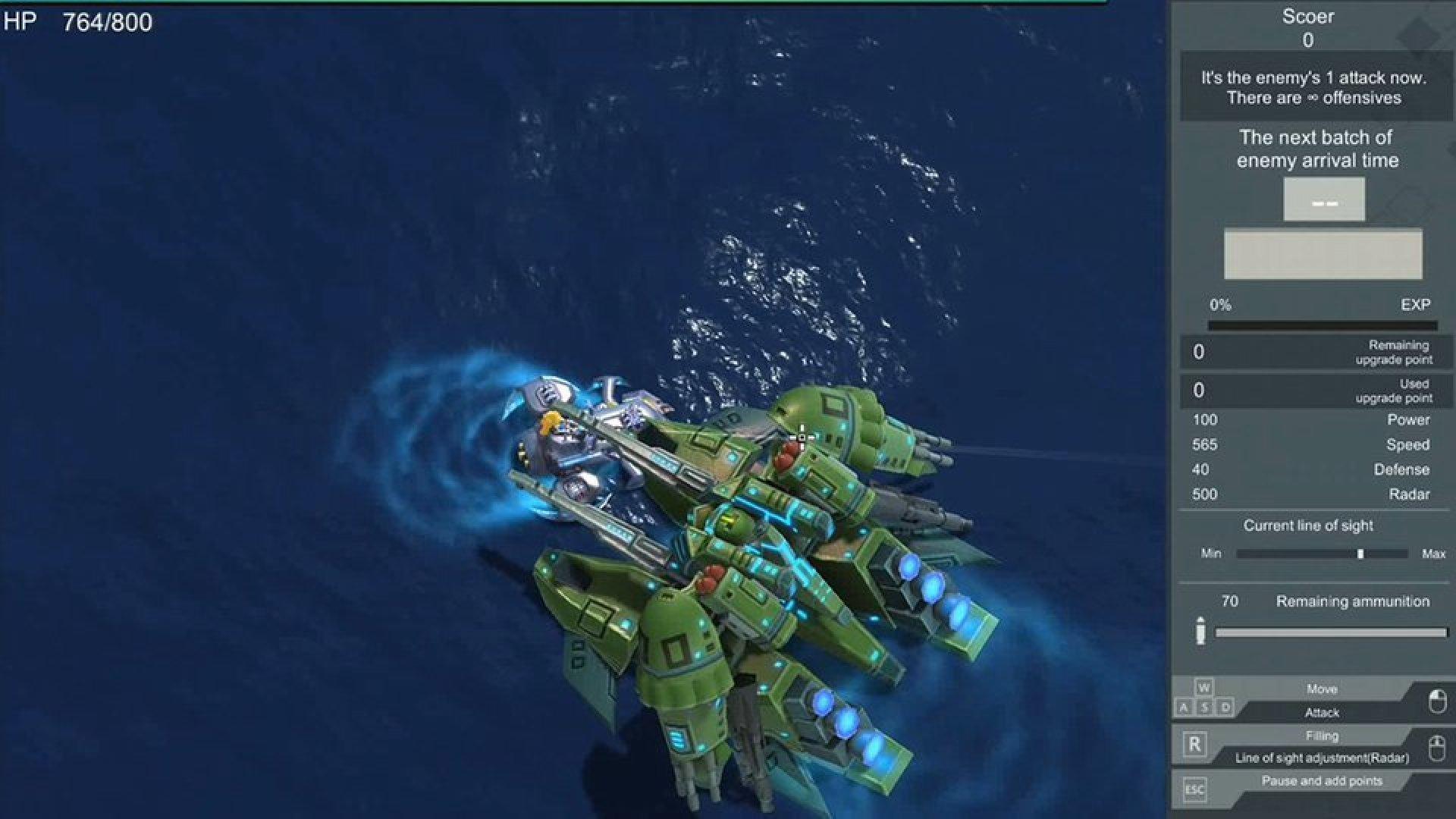 ShineG in the SeaFight
