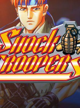 SHOCK TROOPERS Key Art