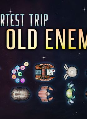 Shortest Trip to Earth - The Old Enemies Key Art