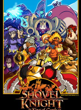 Shovel Knight: King of Cards Key Art