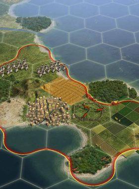 Sid Meier's Civilization V Key Art