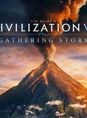 Sid Meier's Civilization 6: Gathering Storm Key Art