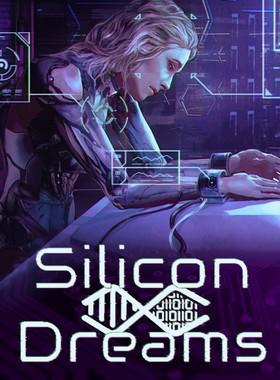 Silicon Dreams | cyberpunk interrogation Key Art