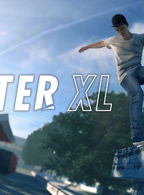 Skater XL - The Ultimate Skateboarding Game Key Art