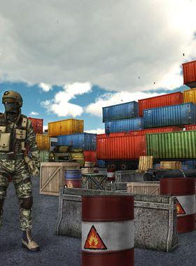 Sniper Rust VR Key Art