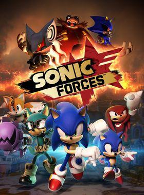 Sonic Forces Key Art