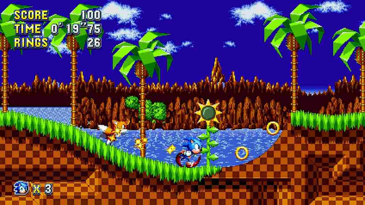 Sonic Mania Background Image