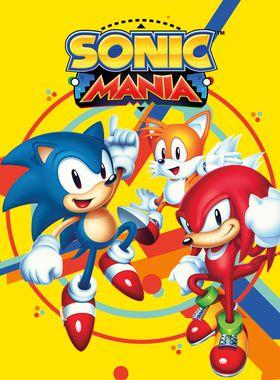 Sonic Mania Key Art