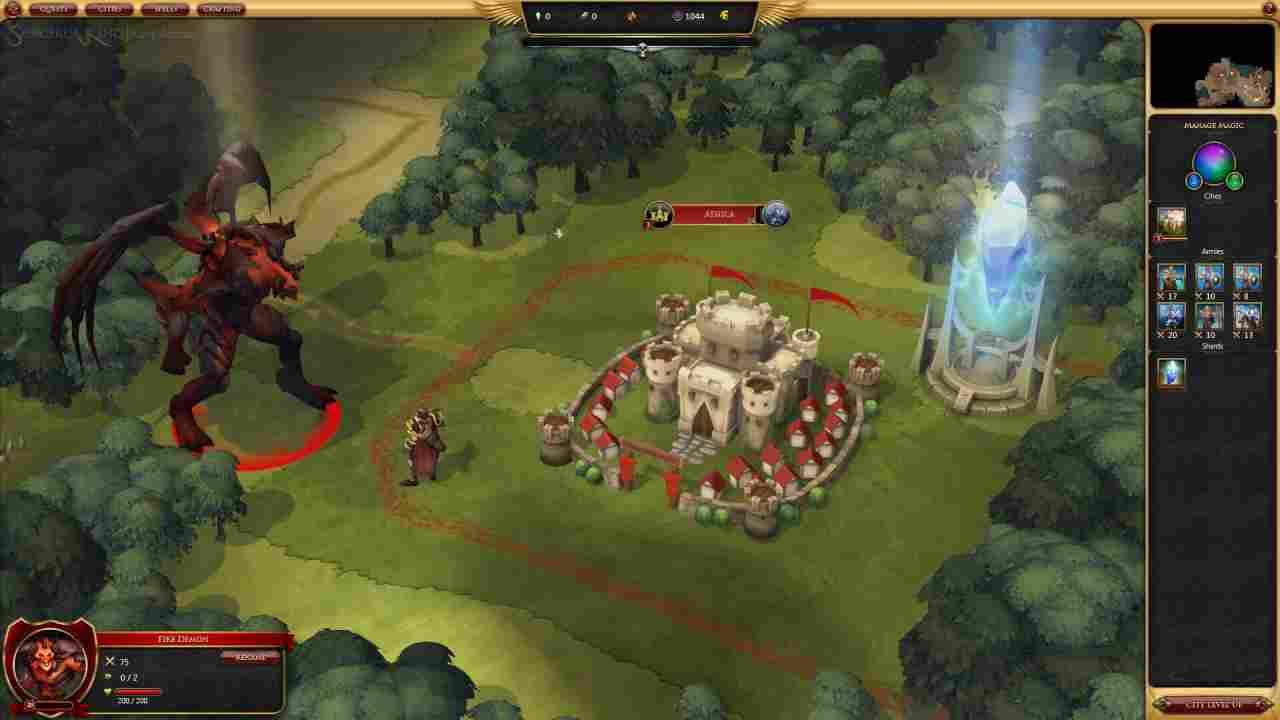 Sorcerer King Background Image