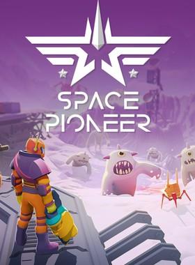 Space Pioneer Key Art