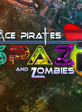 Space Pirates and Zombies 2 Key Art