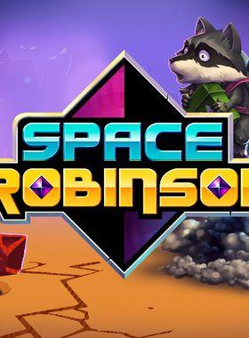 Space Robinson: Hardcore Roguelike Action Key Art