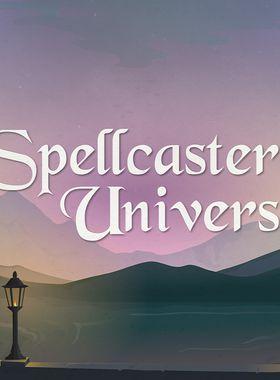 Spellcaster University Key Art
