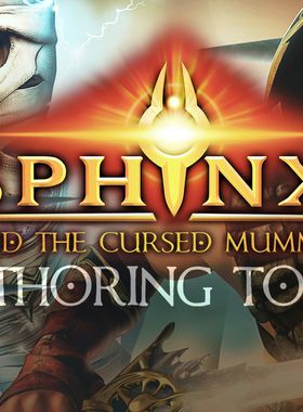 Sphinx and the Cursed Mummy: Authoring Tools Key Art