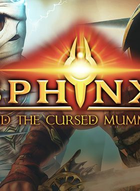 Sphinx and the Cursed Mummy Key Art