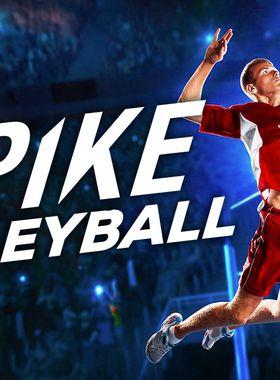 Spike Volleyball Key Art