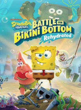 SpongeBob SquarePants: Battle for Bikini Bottom - Rehydrated Key Art