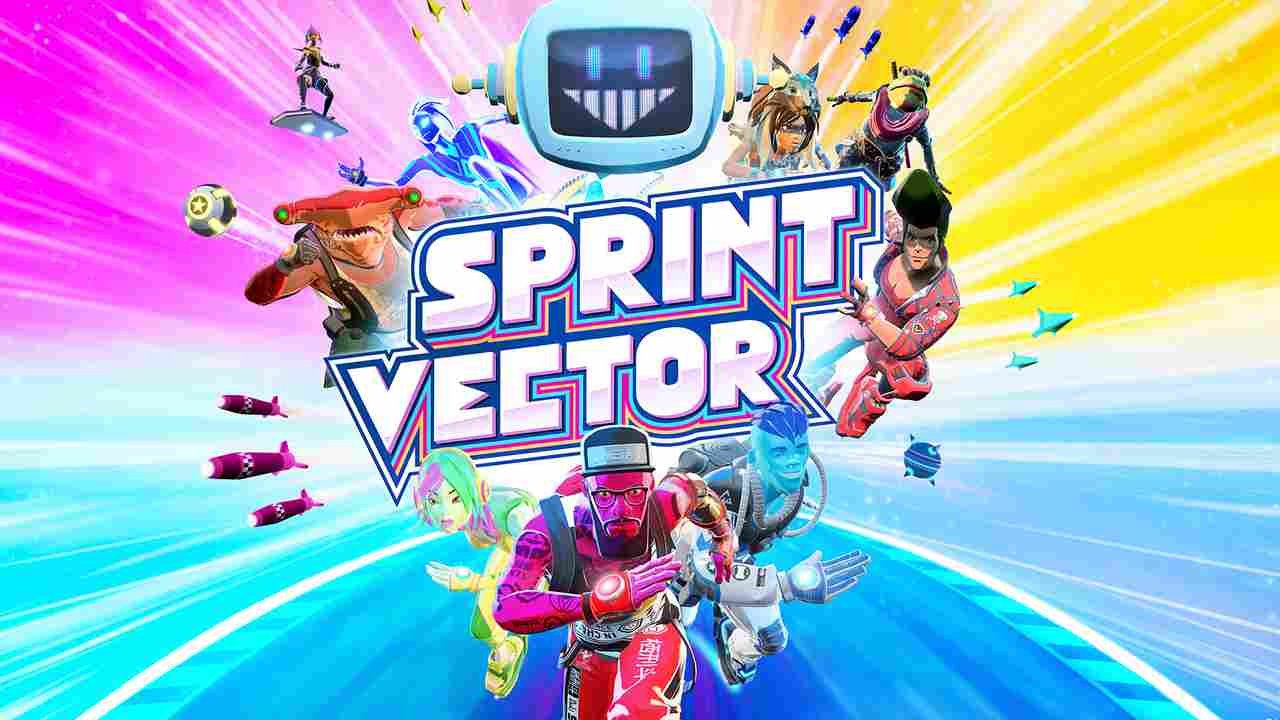 Sprint Vector Background Image