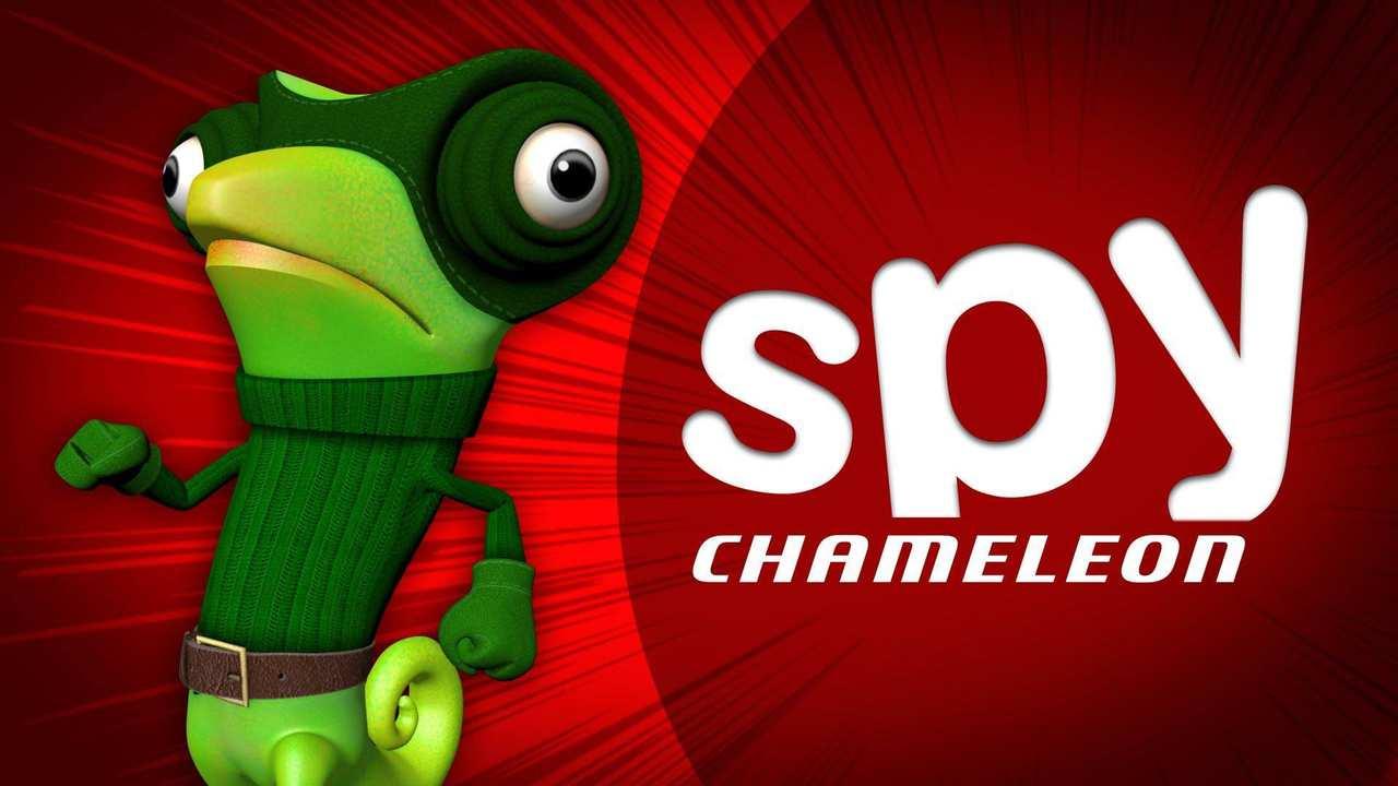 Spy Chameleon Background Image
