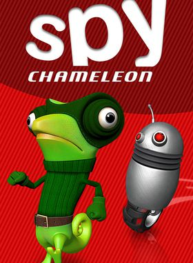 Spy Chameleon - RGB Agent Key Art