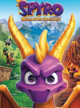 Spyro Reignited Trilogy Key Art