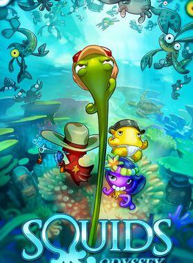 Squids Odyssey Key Art