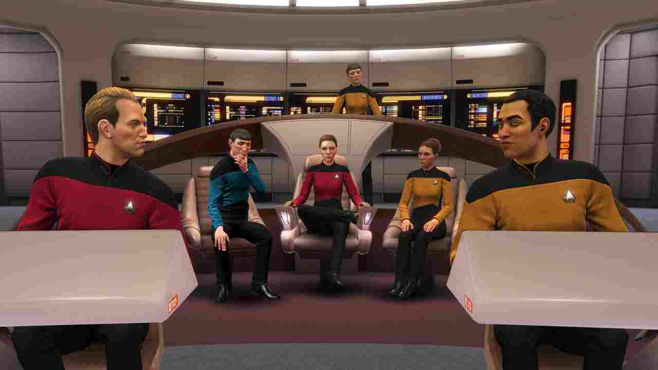 Star Trek: Bridge Crew - The Next Generation Background Image