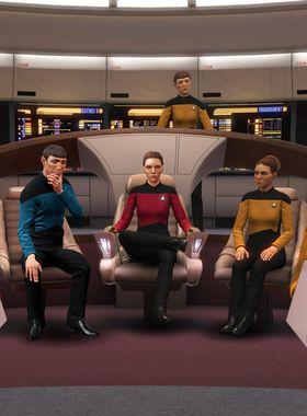Star Trek: Bridge Crew - The Next Generation Key Art