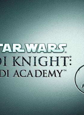 Star Wars Jedi Knight - Jedi Academy Key Art