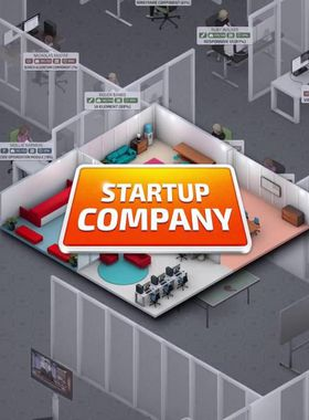 Startup Company Key Art