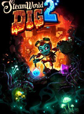 SteamWorld Dig 2 Key Art