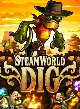 SteamWorld Dig Key Art