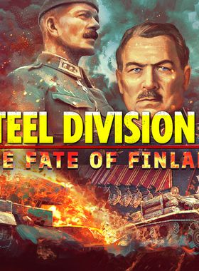 Steel Division 2 - The Fate of Finland Key Art