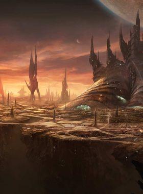 Stellaris: Leviathans Key Art