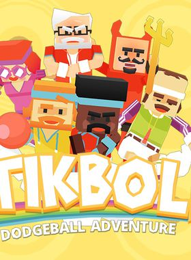 Stikbold! A Dodgeball Adventure Key Art